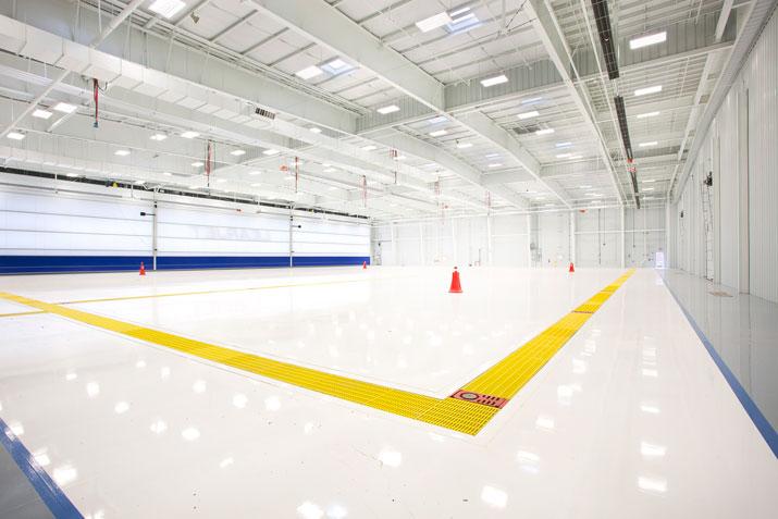 Aircraft facility service