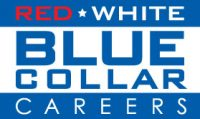 Red White Blue Collar Careers Logo