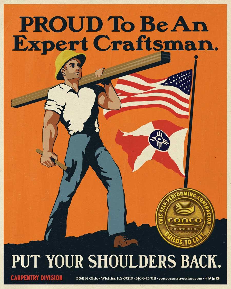 PROUD To Be An Expert Craftsman